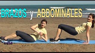 ELIMINAR LA FLACIDEZ DE BRAZOS Y ABDOMEN-Ejercicios abdomen plano y brazos firmes
