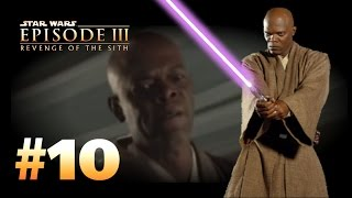 Star Wars Episode 3: Revenge of the Sith (PS2) Walkthrough: Part 10 - Dark Side of the Force [Windu]