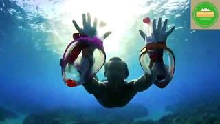2019 Traveler Camper Anti Fog Full Face Snorkel Diving Mask with Gopro Mount