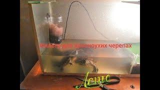 Фильтр для черепах своими руками, кормление черепах кошачьим кормом ))