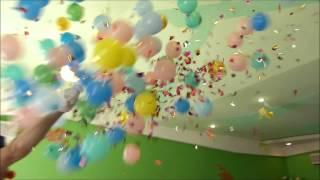 видео Большие шары огромных размеров - Купить большой метровый воздушный шарик в Москве