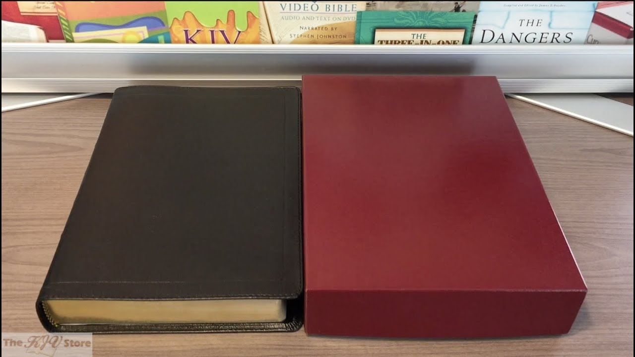 KJV Classic Study Bible (With C I  Scofield Notes) - Lambskin Edition