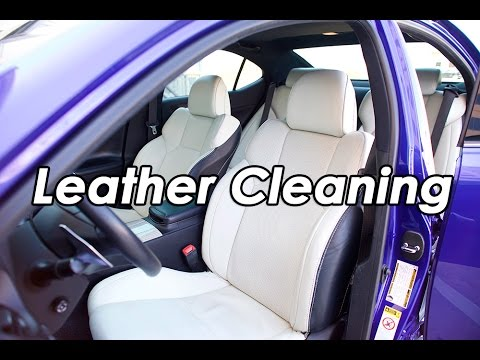 Diy Lexus Isf Leather Cleaning With Griot S Garage Interior Cleaner