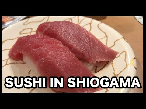 SUSHI IN  SHIOGAMA - ONE DAY IN MY LIFE #18