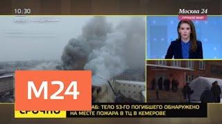 В соцсетях появляются новые кадры, снятые во время пожара в торговом центре Зимняя Вишня - Москва 24