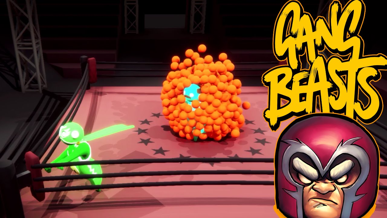 Gang Beasts - The Orange Magneto [Father and Son Gameplay]