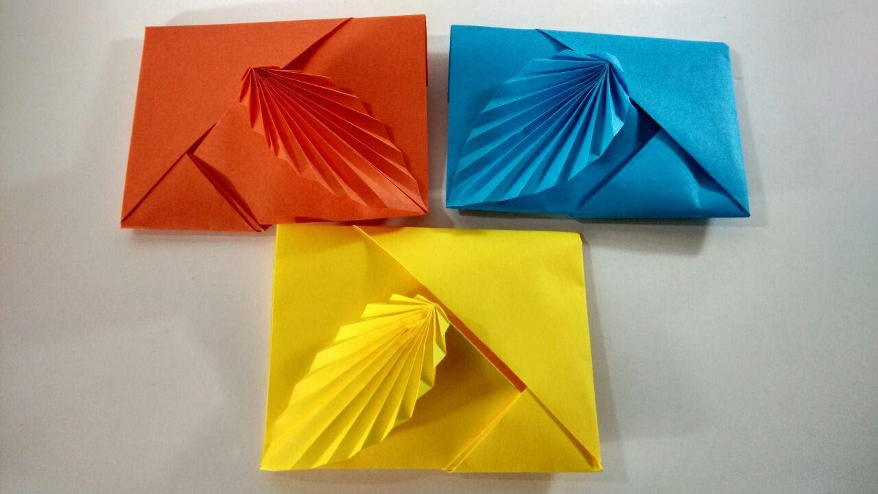 Como hacer un sobre de papel sin pegamento ni tijeras for Como construir piletas de material