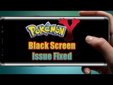 Pokemon Y Black Screen Issue On Citra Emulator Fixed!Very