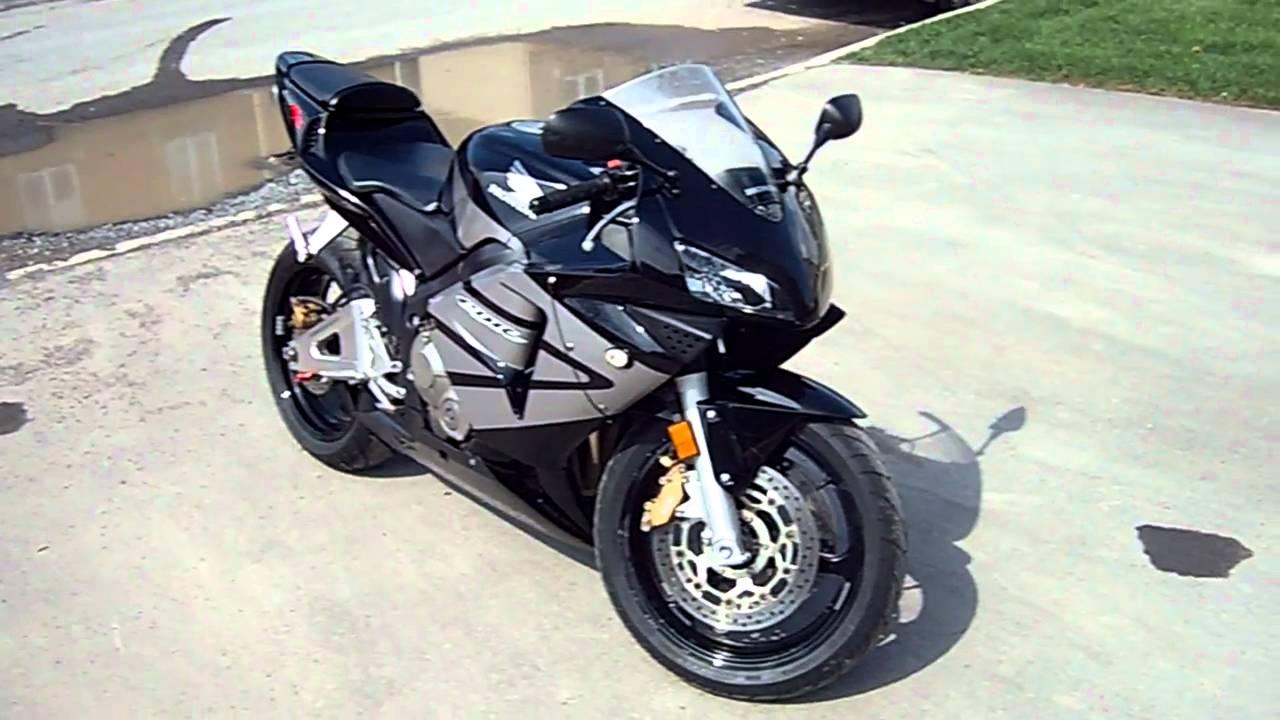 Honda Cbr 600rr Black Youtube