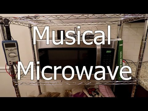 Musical Microwave Plays Christmas Carols (Arduino Project)