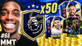 PREMIER LEAGUE UPGRADES! CAN WE PACK A TOTY?!?!💲🤑💰S2- MMT #66