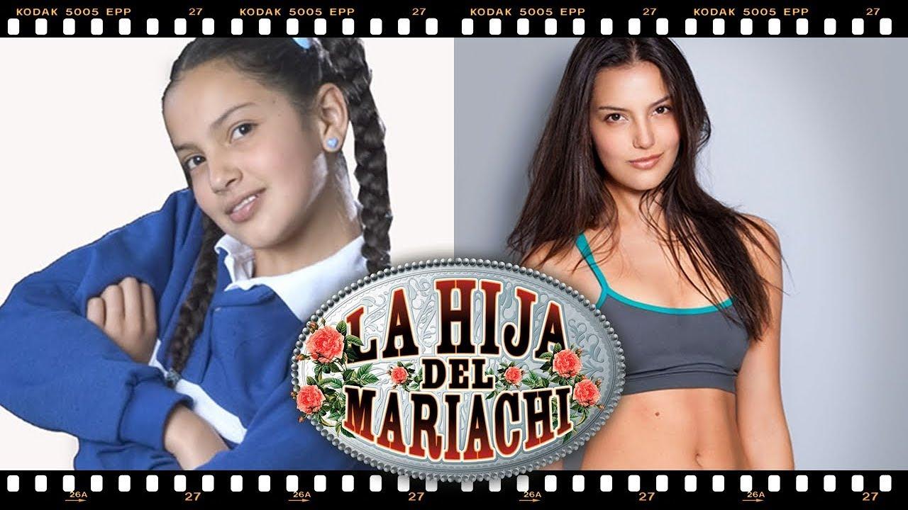 La hija del Mariachi // Los actores Antes y Después - YouTube