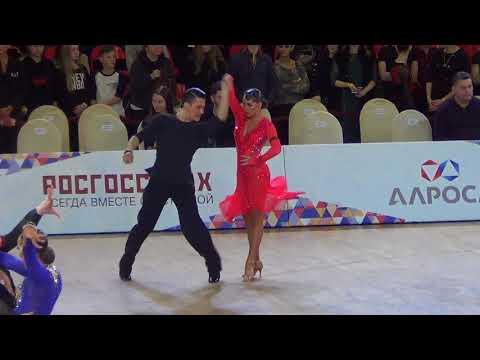 Kulyaev - Kashapova Paso 1/8 Russian Championship 2018