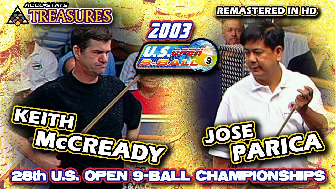 2003: Keith McCREADY vs. Jose Parica - 28th U.S. OPEN 9-BALL CHAMPIONSHIPS