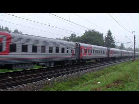 ЧС2-953 с поездом №015 Арктика Мурманск-Москва
