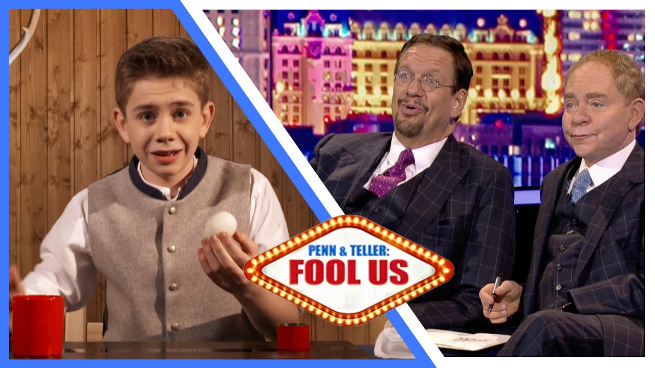 Download Penn and Teller Fool Us - Magic Maxl - Youngest fooler ever! S08E02
