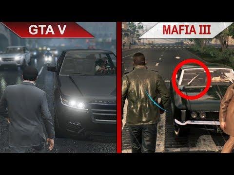 THE BIG GTA V vs. MAFIA III SBS COMPARISON   PC   ULTRA