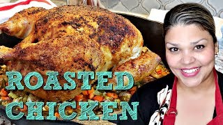 Roasted Chicken Recipe | How To Cook A Whole Chicken | 4K Cooking Videos