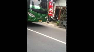 klakson  bus  arjuna samba