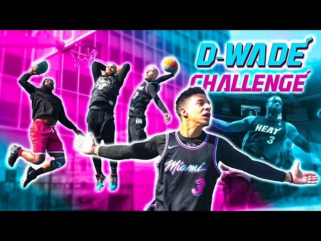 DWYANE WADE CHALLENGE ! #ONELASTDANCE