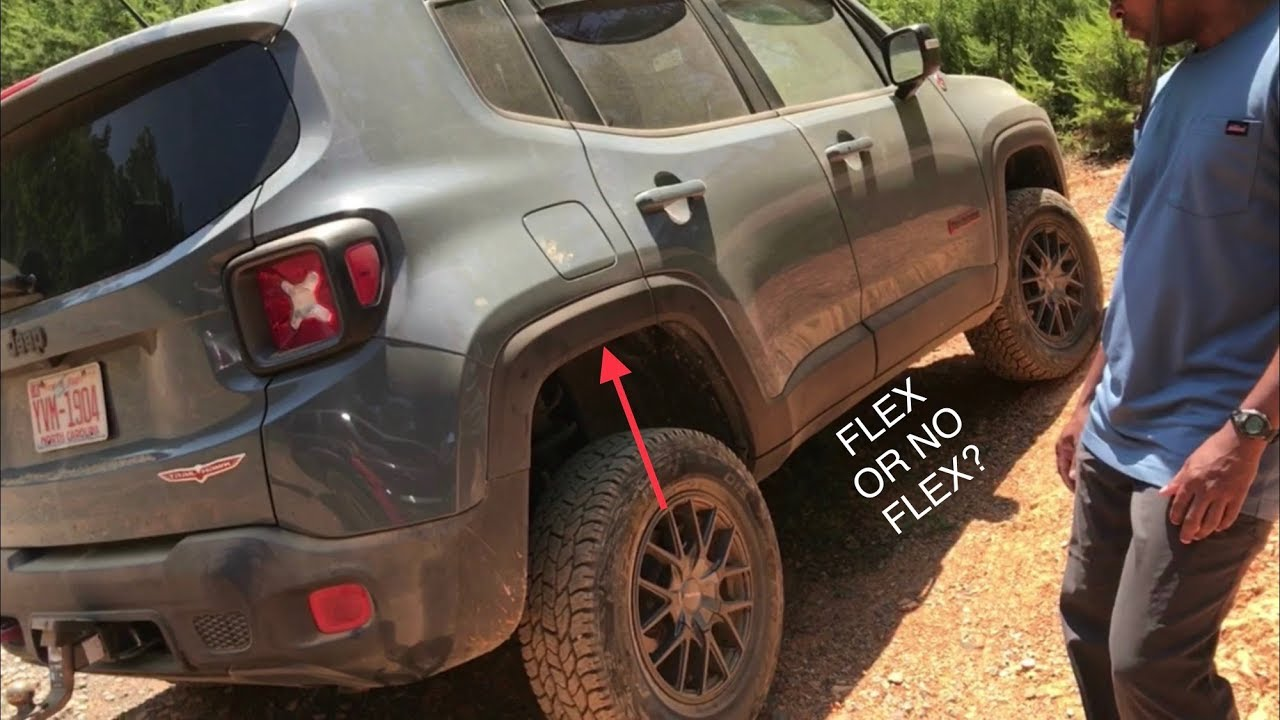 Jeep Renegade Lifted >> Lifted Jeep Renegade Trailhawk 3 Wheeling at Uwharrie - YouTube