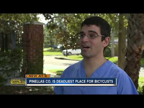 Pinellas County the most dangerous place to ride a bike in America, report says