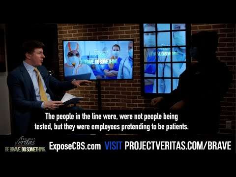"""#ExposeCBS Michigan Health Center Workers Stage """"Fake Patients"""" In COVID19 Testing Line For CBS News"""