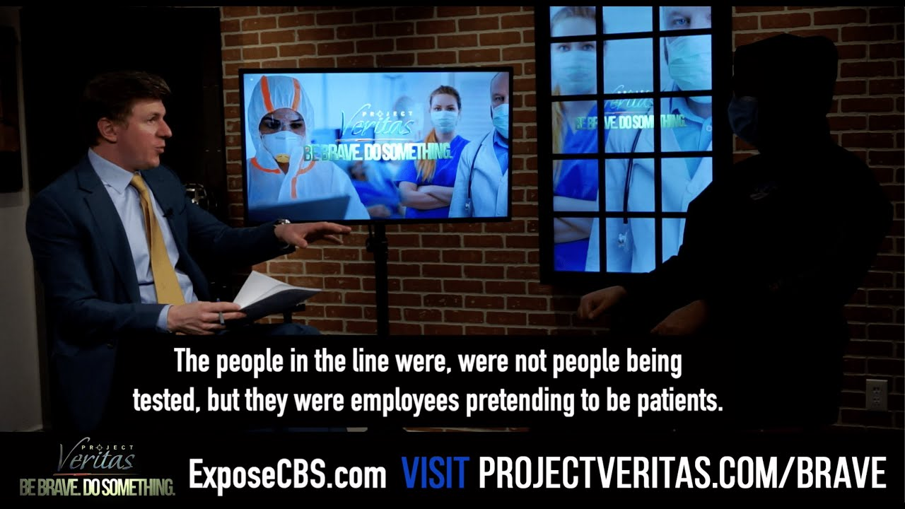 "#ExposeCBS Michigan Health Center Workers Stage ""Fake Patients"" In COVID19 Testing Line For CBS News"
