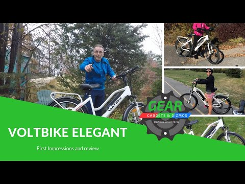 Voltbike Elegant first impressions and review