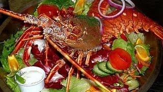 Азиатская кухня  Салат с крабом