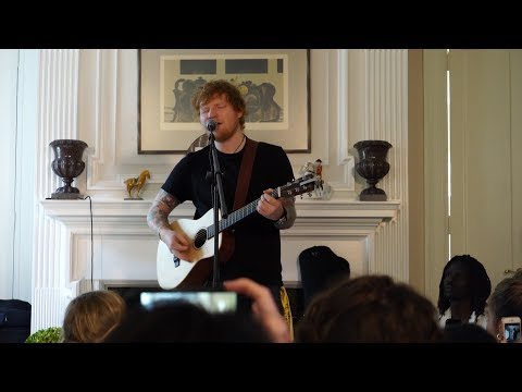 The Compassionate Reason Why Ed Sheeran Performed In Someone's Living Room
