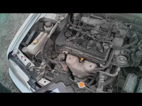 Nissan Sunny, двигатель QG15DE - работа без искры