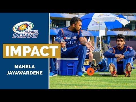 Support Staff's Impact on the Players - Mahela Jayawardene | Mumbai Indians