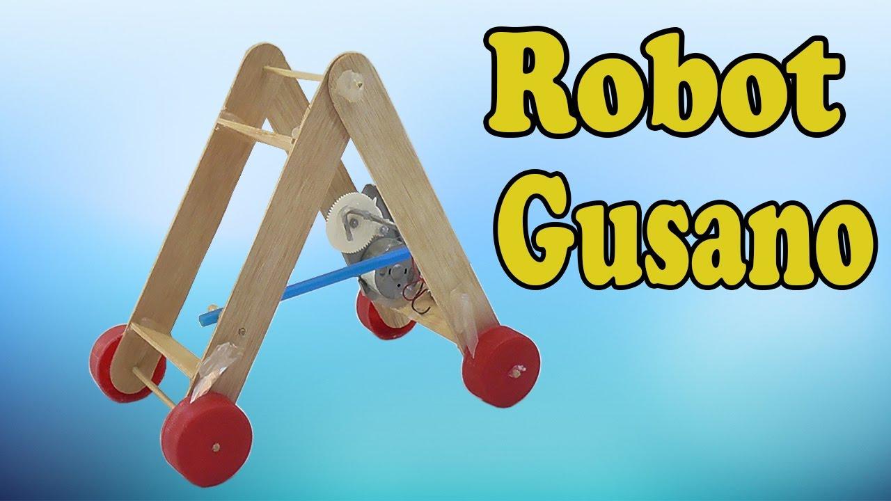 Cómo Hacer un Robot Gusano (Muy fácil de hacer) - YouTube