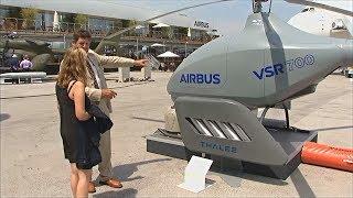 Airbus представила на авиасалоне в Ле-Бурже беспилотный вертолёт VSR700 (новости)