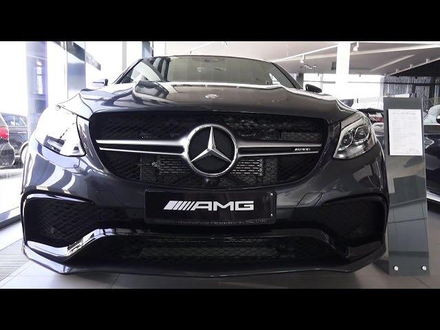 2016 Mercedes-Benz GLE 63 AMG Coupe. Обзор (интерьер, экстерьер, двигатель).