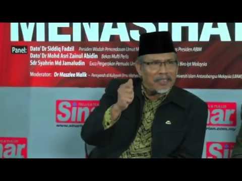 Peranan Ulama' dalam menasihati Pemerintah - Dato' Dr Siddiq Fadhil
