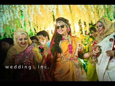 A Rifat Shakhawat Hossain Production, Weddings, inc. Cinematography. Khushi's Holud