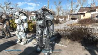 Fallout 4 AA x-01 T60 T51 T45 power armor with all paints