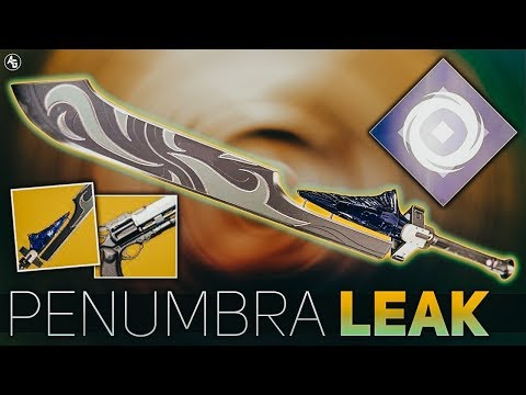 Destiny 2 | Penumbra Leak (Hawkmoon & Dark Drinker Returning, alongside Rose) Season of Opulence thumbnail