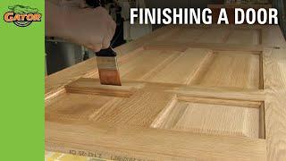 Gator Finishing — How To Finish Doors Video