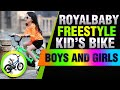 RoyalBaby Freestyle Kid's Bike for Boys and Girls, 12 14 16 inch with Training Wheels, 16 18 20