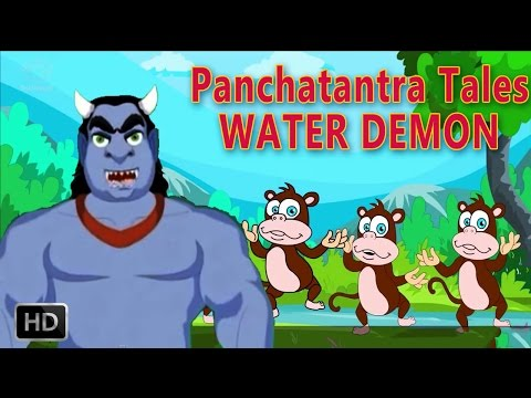 Tales of Panchatantra - Water Demon - Animated / Cartoon Stories for Kids