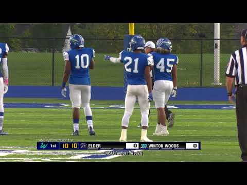 Winton Woods vs Elder Varsity Football Game of October 13, 2017