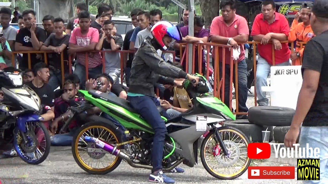 PART6/9 Y15zr Std Body Drag Racing Kubang Menerong Apr 2018
