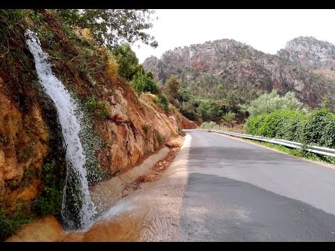 Cascade Zegzel  Grotte de chameau - Berkane - Waterfalls and Cave