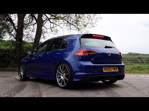 Here's What a 600BHP VW GOLF R is Like to Drive!