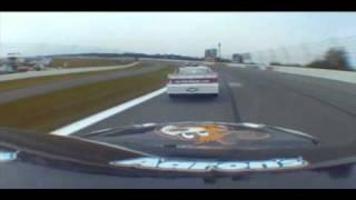 Elliott Sadler Pocono 2010 Crash With Replay And Interview
