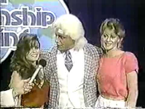 Gordon Solie Interviews Ric Flair