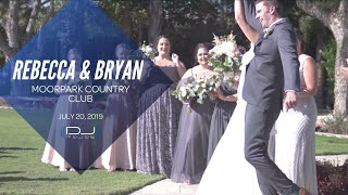 Moorpark Country Club Wedding DJ Highlights!